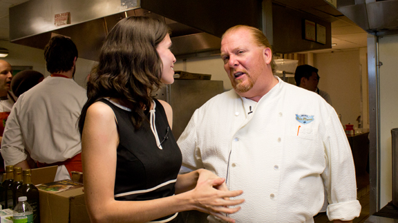 Interview with Mario Batali about Eataly and The Chew