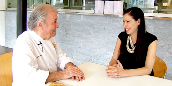 5 Questions for Jacques Pepin