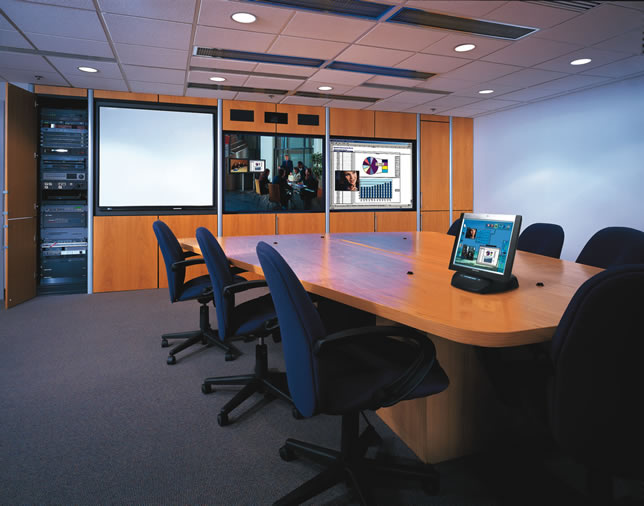 Informed business decisions enhanced by technically advanced communication systems… that's what today's boardrooms are about.