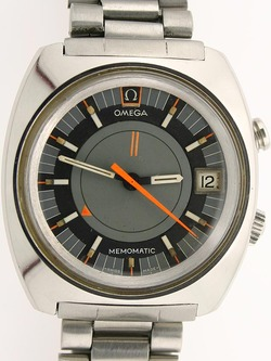 Retro Omega Memomatic Alarm Watch Not Free But A Good Value In