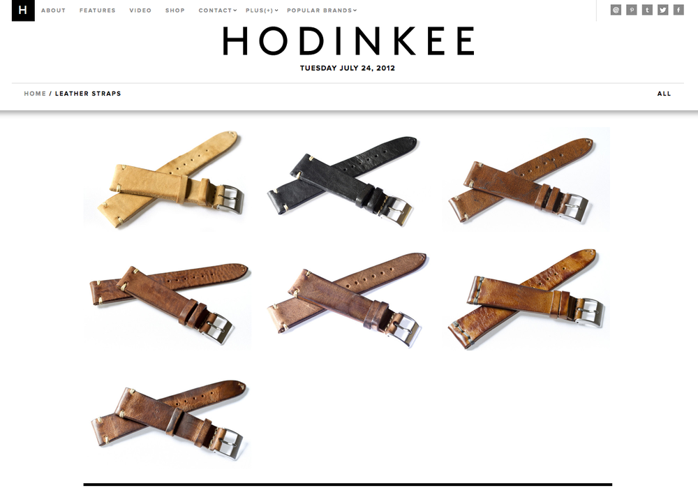 A new look to the HODINKEE shop, now fully stocked.