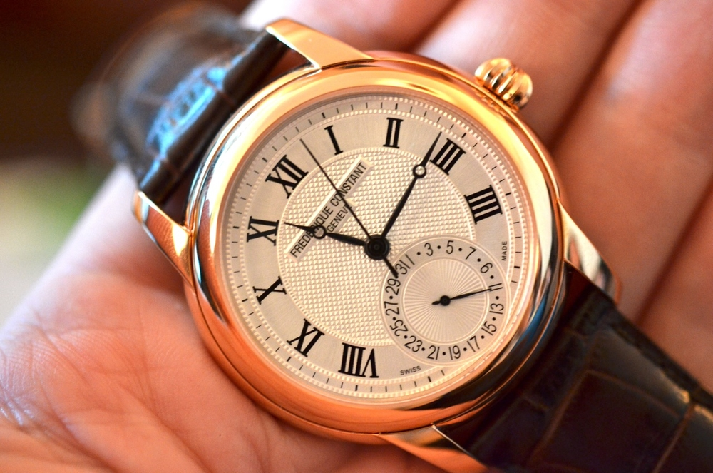 The Frederique Constant Classics Manufacture - Rose Gold Plated at $2550