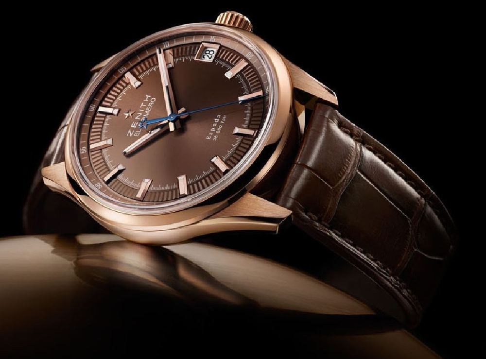 The new Zenith Espada is a beautiful watch in rose gold, but it will cost you.
