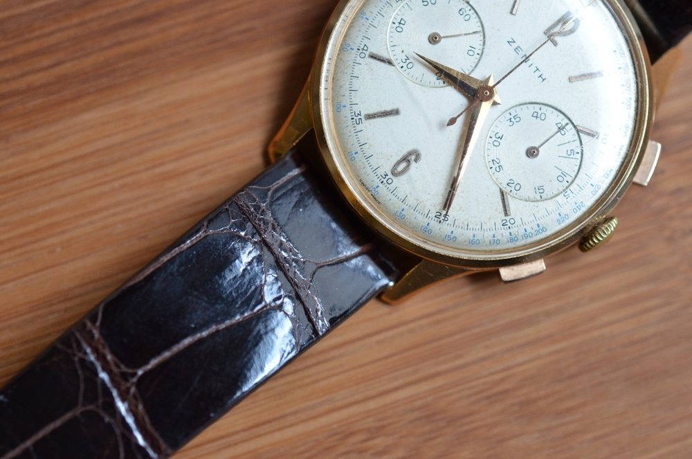 The Zenith 156D Chronograph