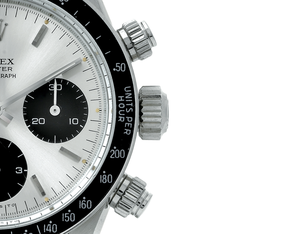 "Rolex Daytona 6263 with ""screw-down"" pushers - copyright Antiquorum"