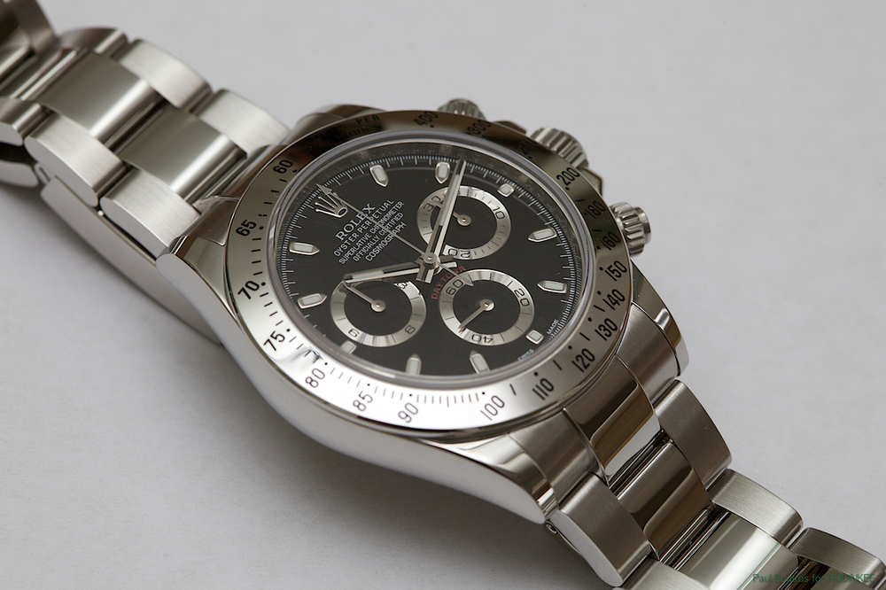 Rolex's reference 116520 was introduced in 2000, housing the caliber 4130.