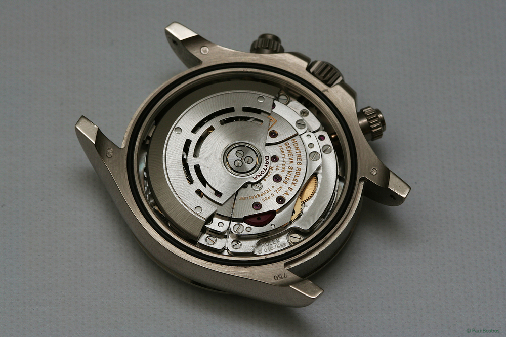 Rolex didn't produce an in-house chronograph movement until BaselWorld 2000
