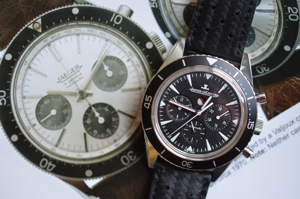 """The Deep Sea Chrono resembles a rare French-market chrono from 1970 called """"Quatre Atrmosphéres"""""""