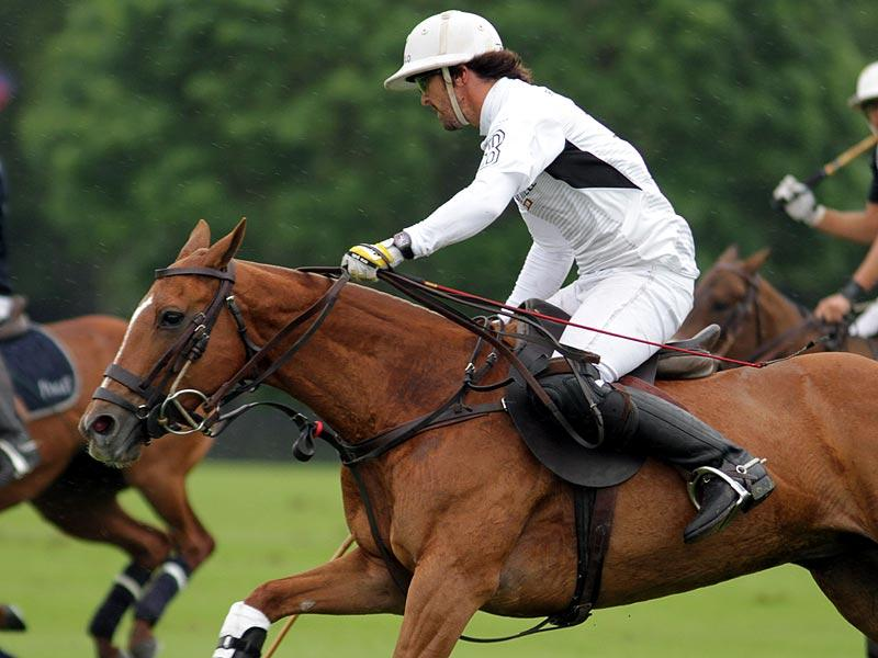 Pablo MacDonough wearing another Richard Mille during a match - via PoloLine.com