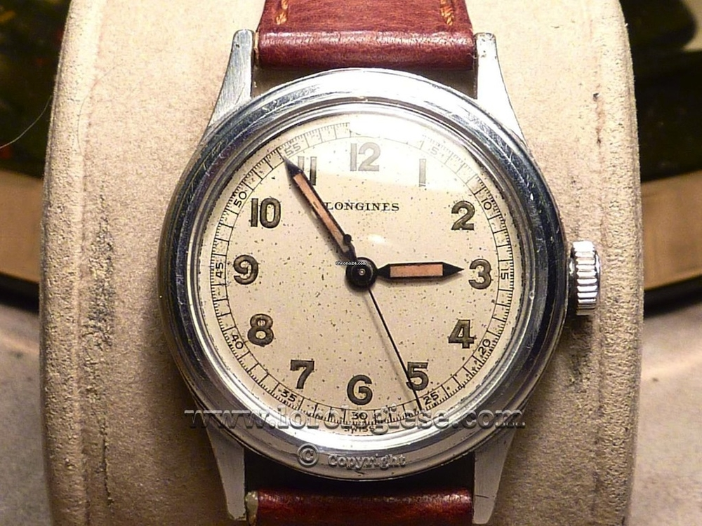 Cleaned up Navy Longines