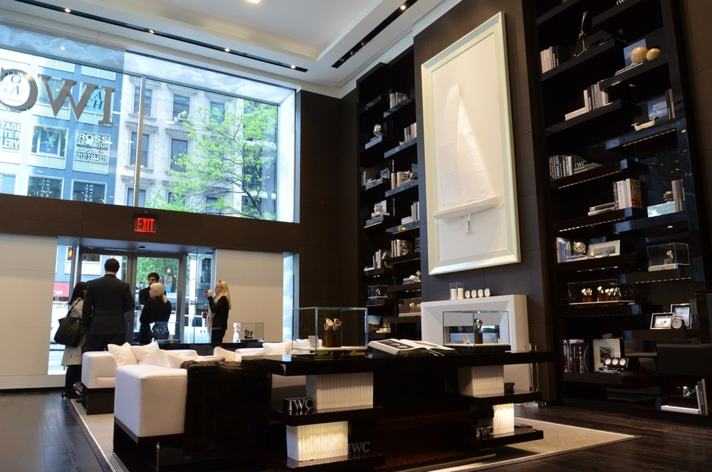 IWC's Madison Avenue Boutique in New York City