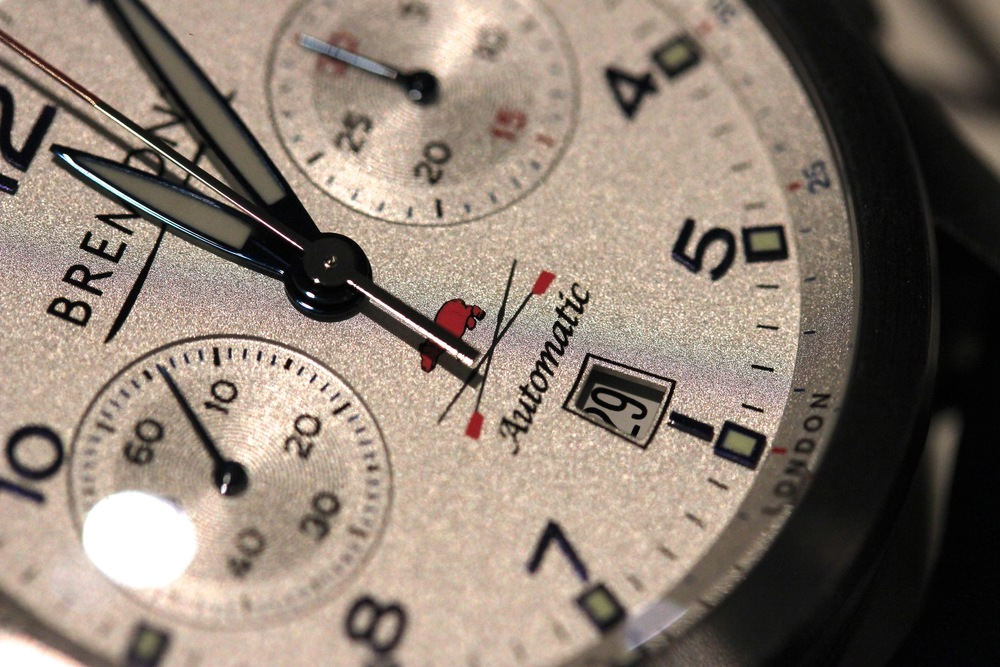 Leander Club Special Edition Chronograph, with Rowing Strokes-per-Minute Scale