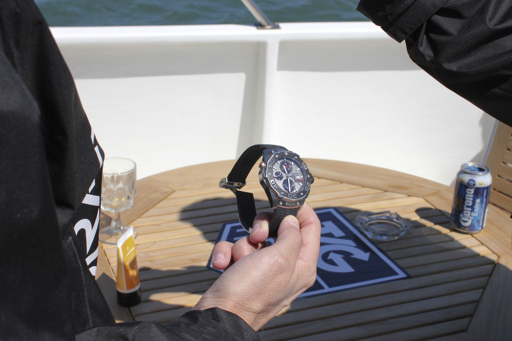 Ulrich Wohn, President and CEO of TAG Heuer North America, Explains the Team USA Aquaracer