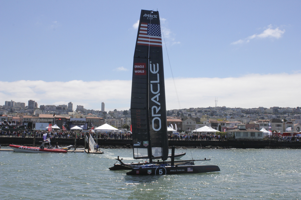 The Defending Champion, Oracle Team USA