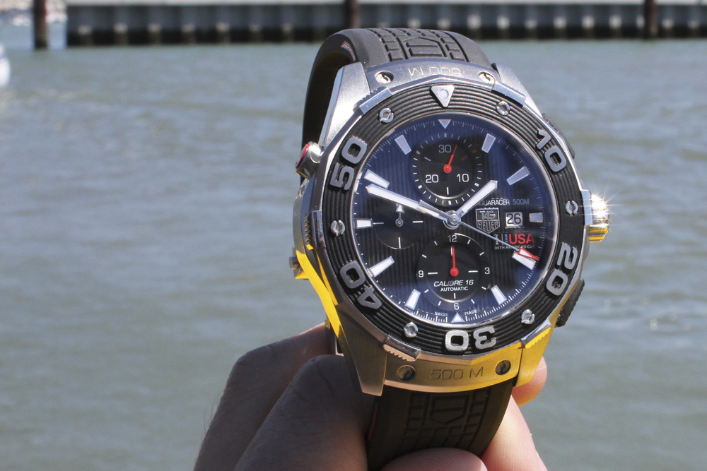The TAG Heuer Team USA Aquaracer 500