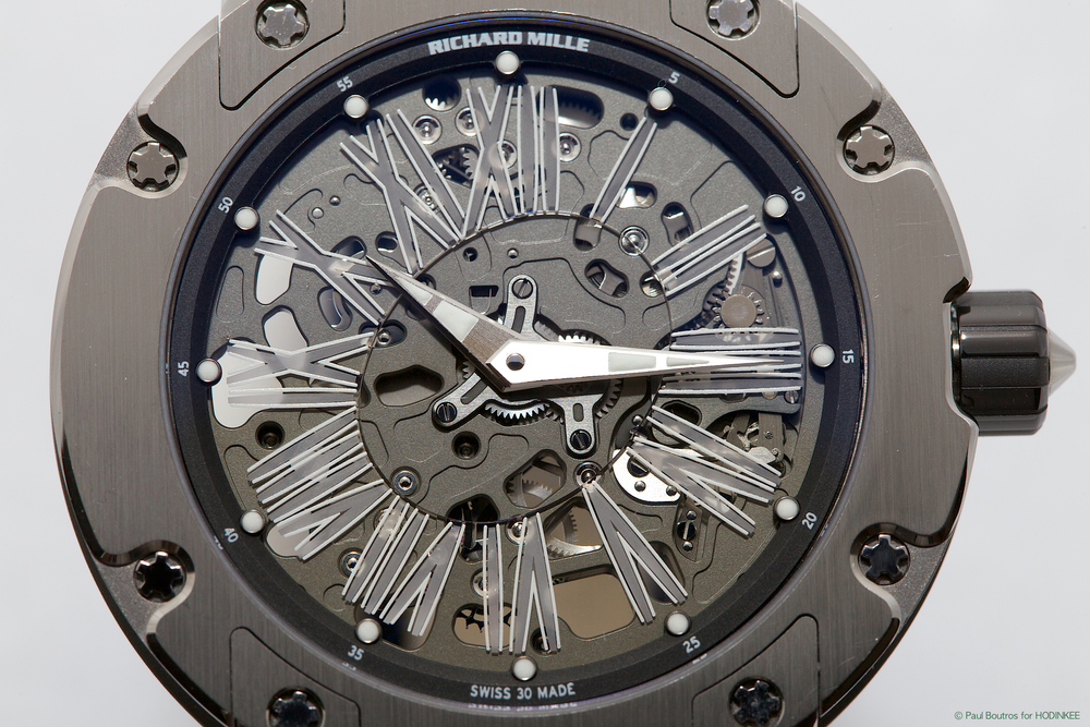 The RM 033's Dial