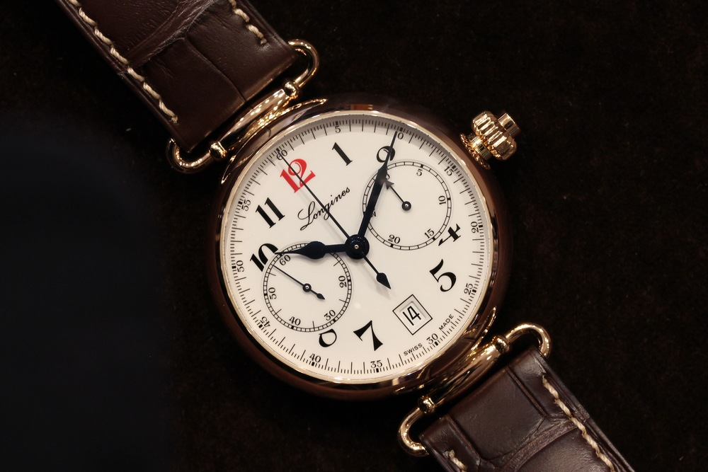 The Longines Single Push-Piece 180th Anniversary Limited Edition