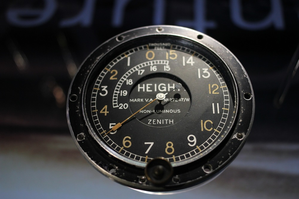 1910 Altimeter - The Hand Inspired the Seconds Hand on the El Primero