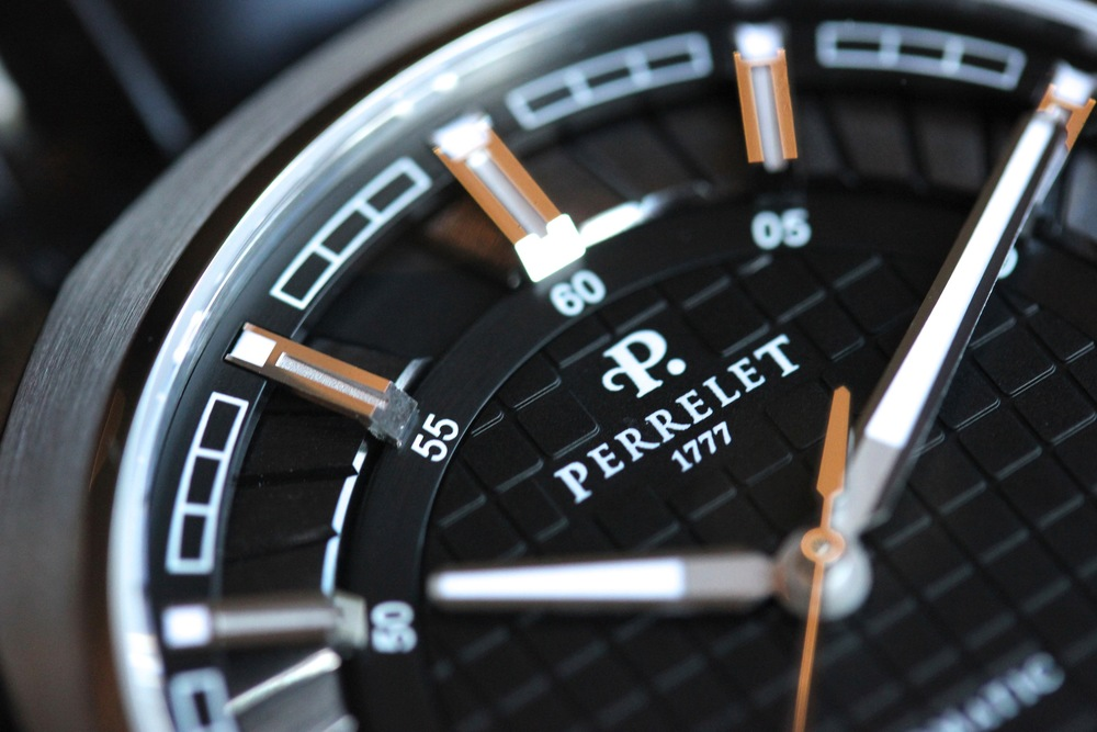 Black Dial Peripheral Double Rotor