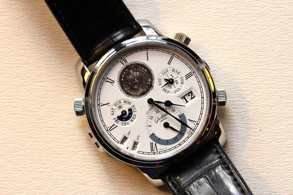 The Glashütte Original Grande Cosmopolite Tourbillon