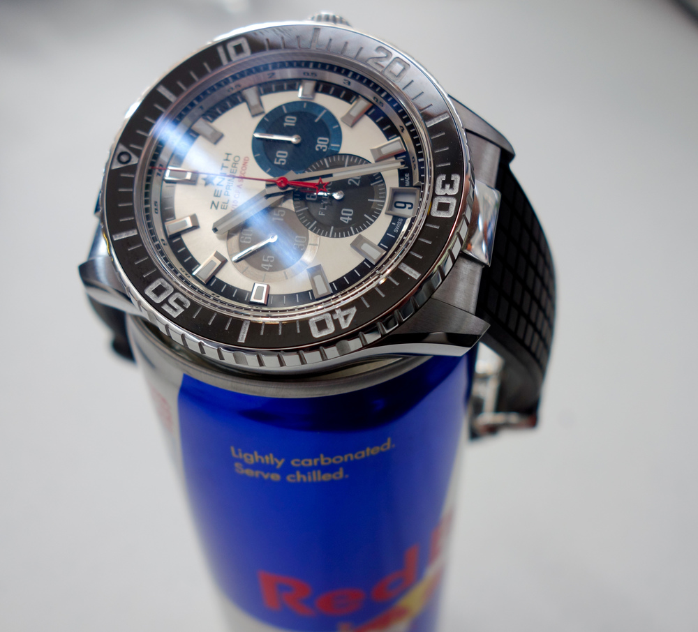 "The Zenith Stratos Flyback Striking 10th ""Tribute to Felix Baumgartner"""