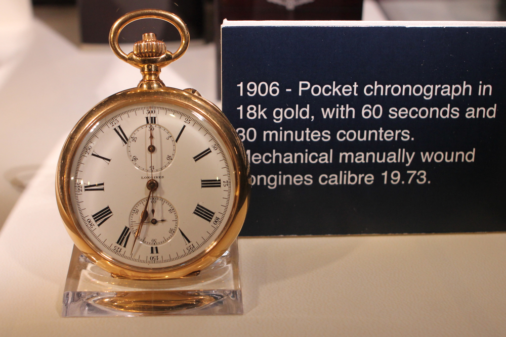 1906 Pocket Chronograph in Simple 18k Gold Case