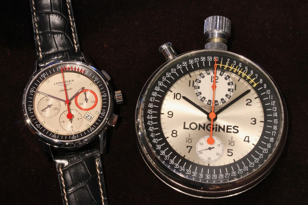 Early 2000s Chronograph and the 1970 Sport Timer That Inspired It