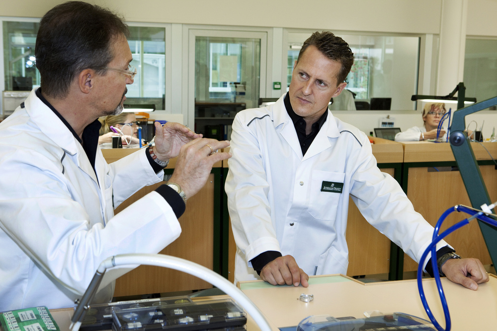 Michael Schumacher Was Heavily Involved in Designing the Watch