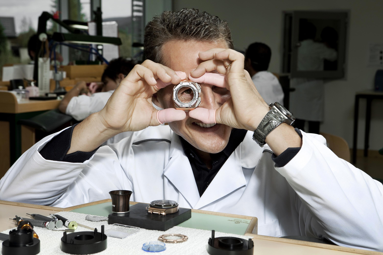 Michael Schumacher Manufacture visit 2012.jpg