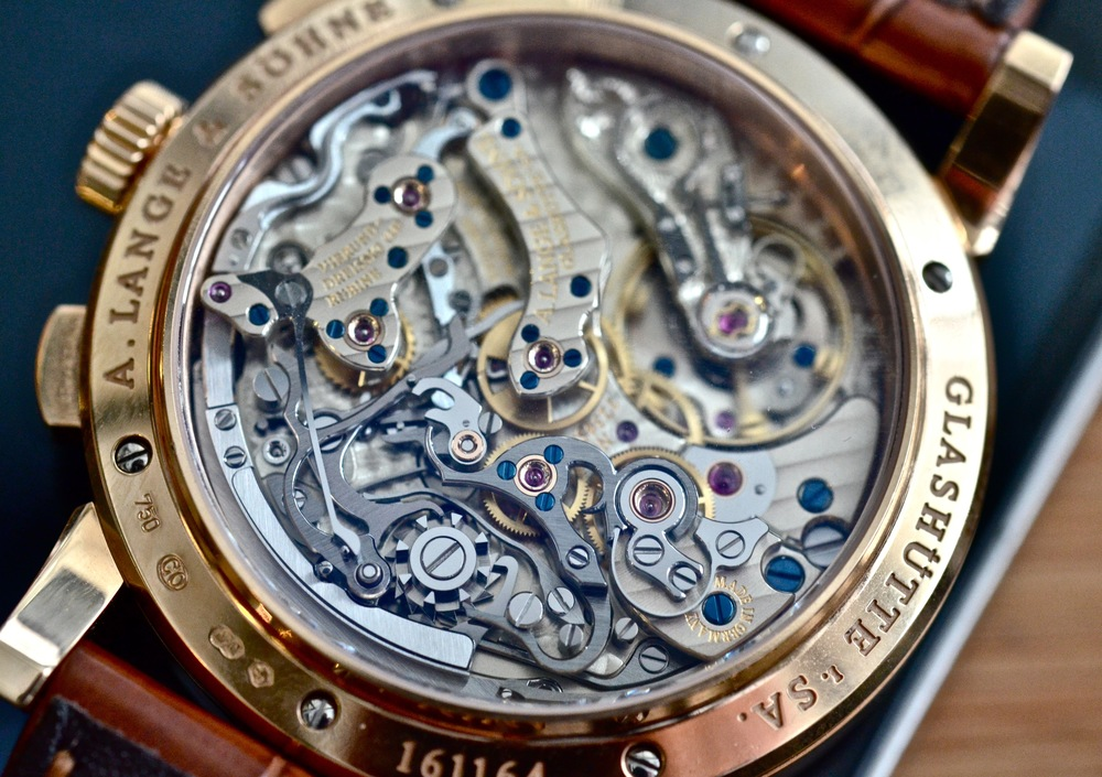 The Lange Caliber 951 as seen in the A. Lange & Söhne 1815 Chronograph