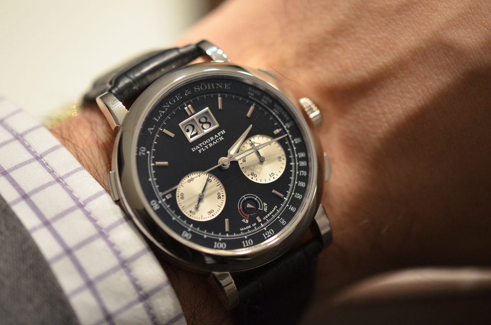 The A. Lange & Söhne Datograph UP/DOWN in 41mm has a retail price of $87,600.