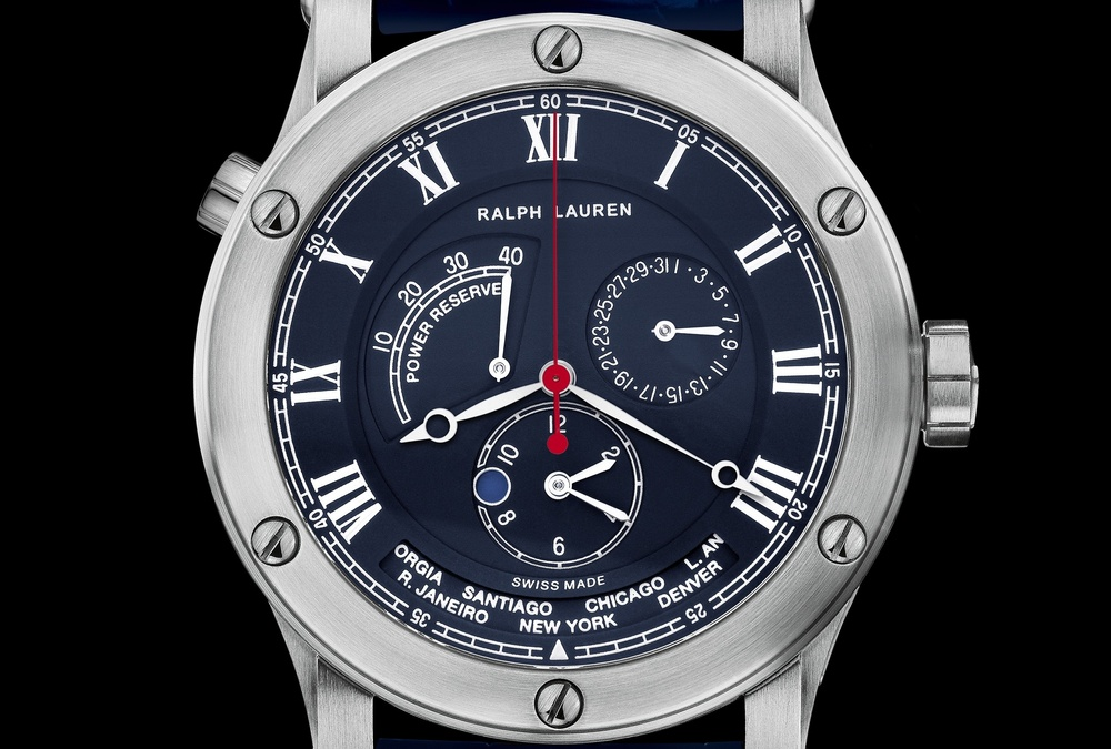 Sporting World Time Dial