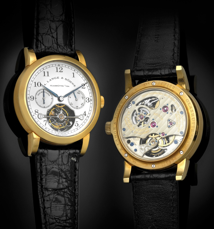 A. LANGE & SÖHNE REF. 701.001 Tourbillon Pour le Merite - one of the first Lange tourbillons of the modern era.