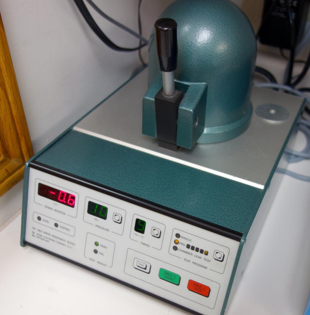 The Sigma Pressure Tester