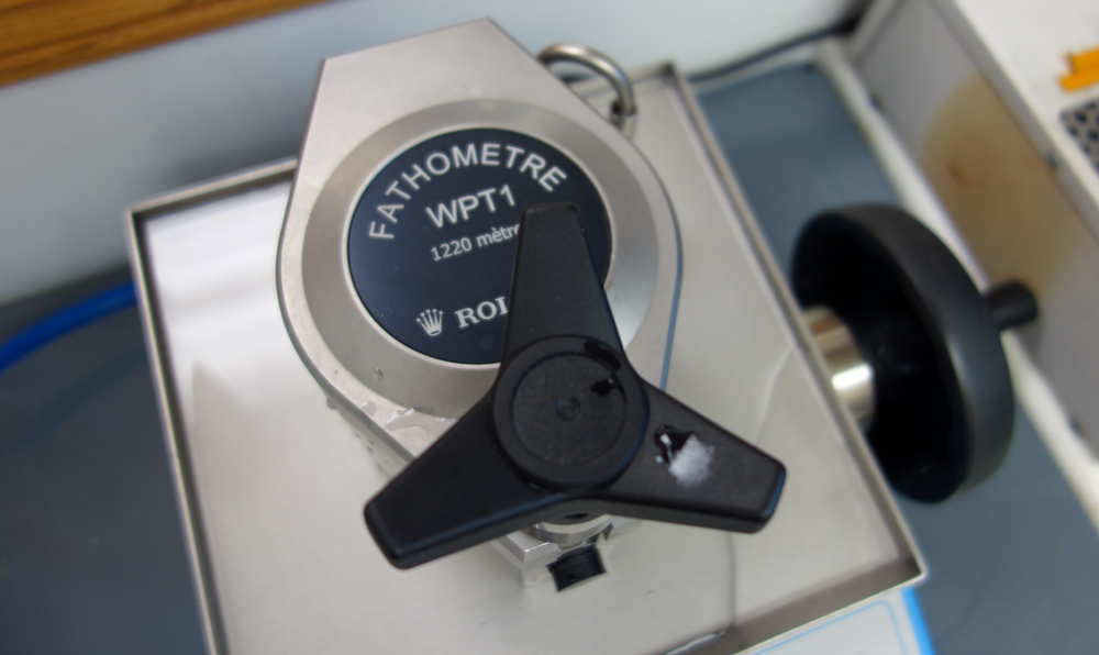 The Rolex Fathometre