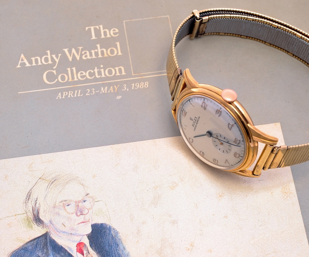 The watch with original Sotheby's Catalog
