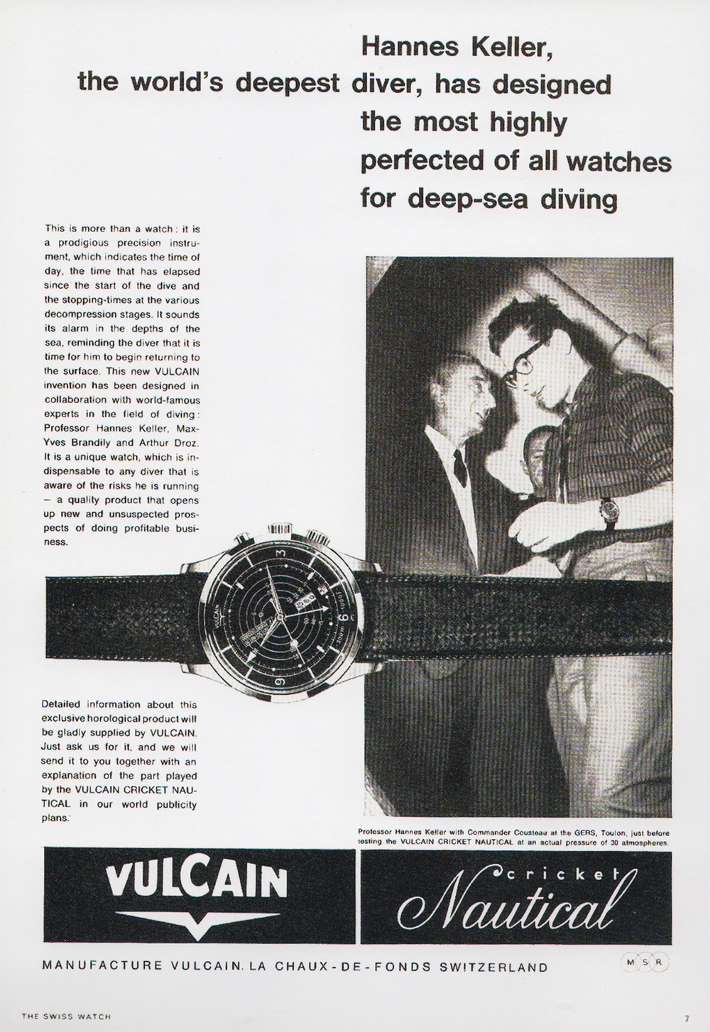 Nautical launch ad from 1961