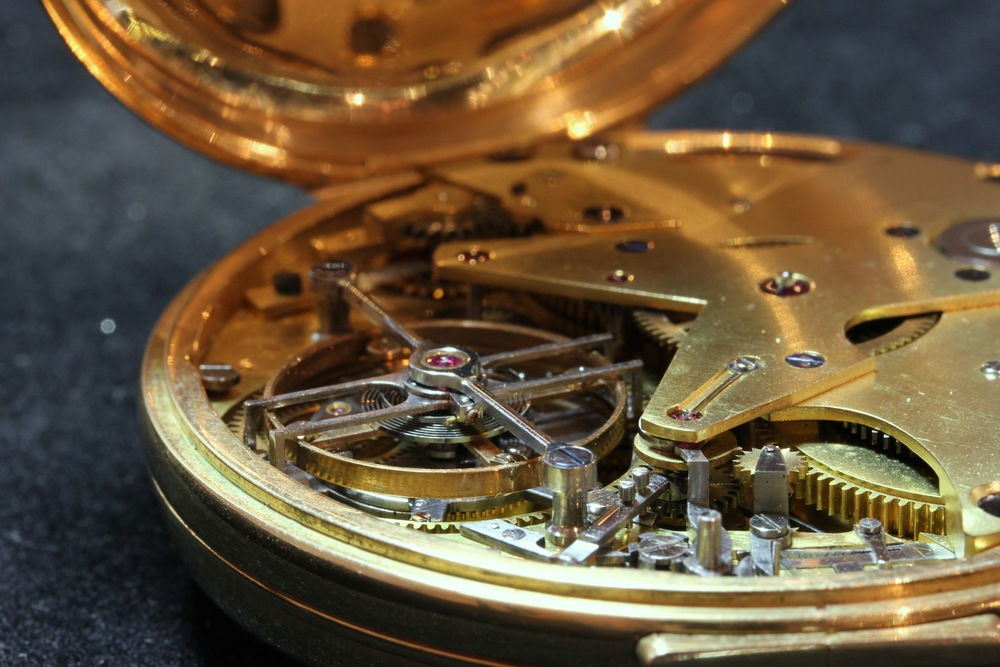 Inside the Co-Axial Chronograph