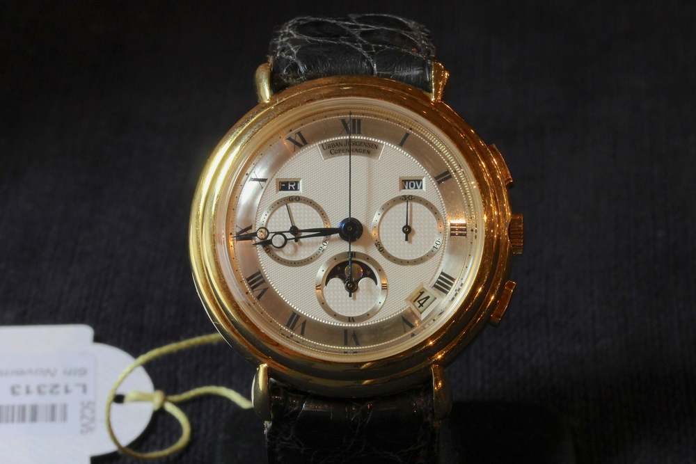 Modified Urban Jurgensen with Co-Axial Escapement