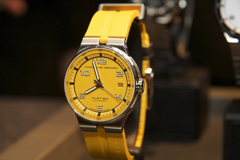 Yellow Flat Six