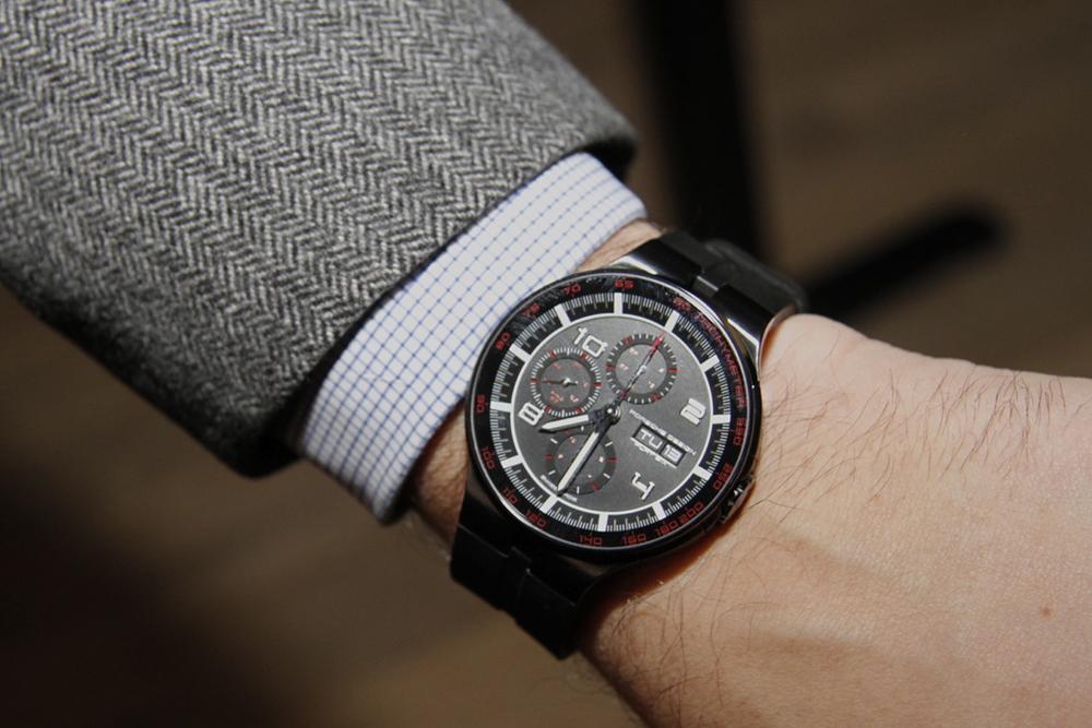 Flat Six Chronograph On The Wrist