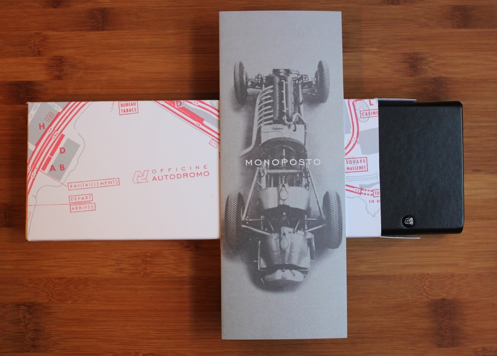 The Limited Edition Monoposto's Collector's Packaging