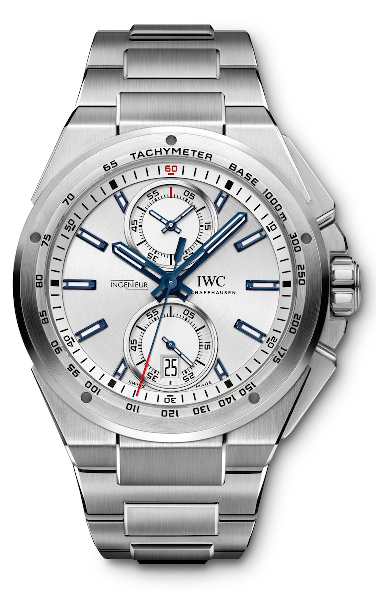 IWC Ingenieur Chronograph Racer on Steel Bracelet