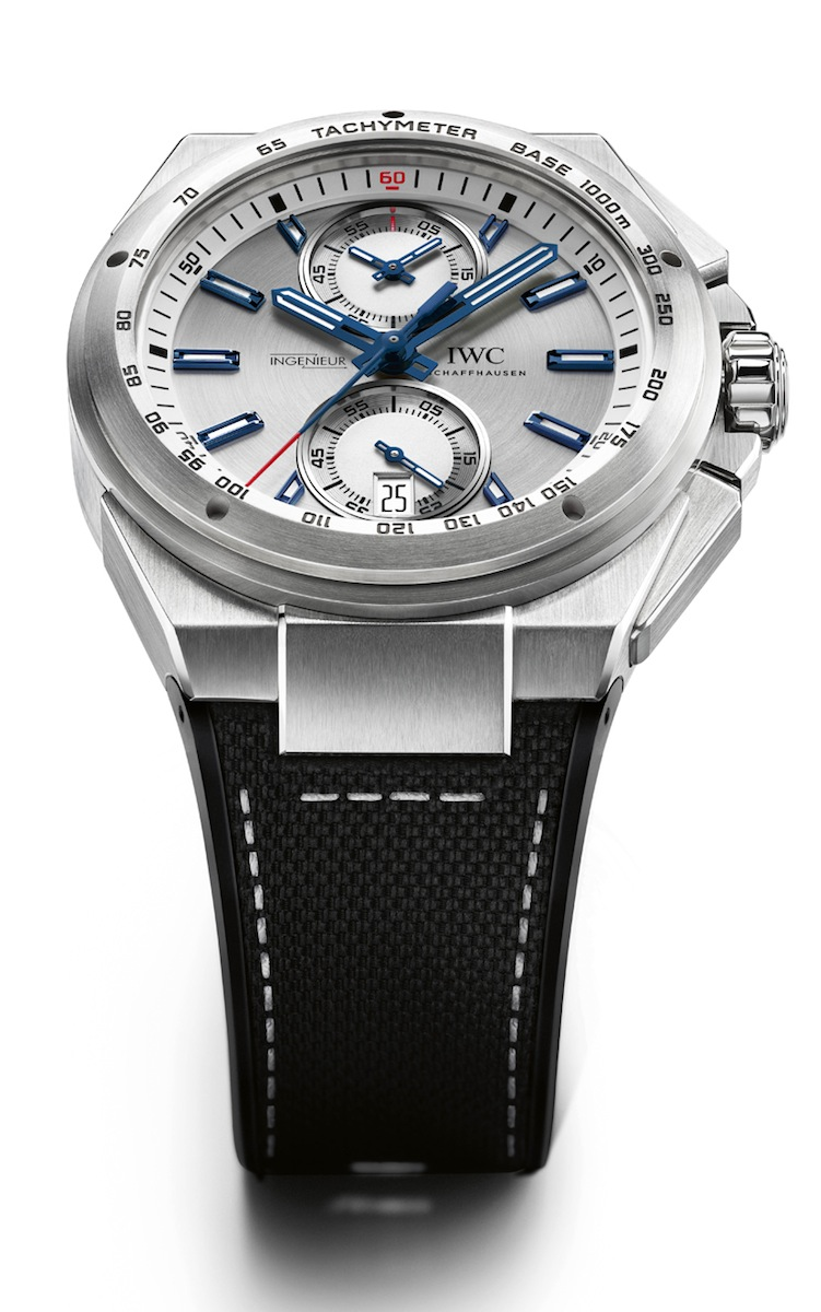 IWC Ingenieur Chronograph Racer on Rubber/Textile Strap