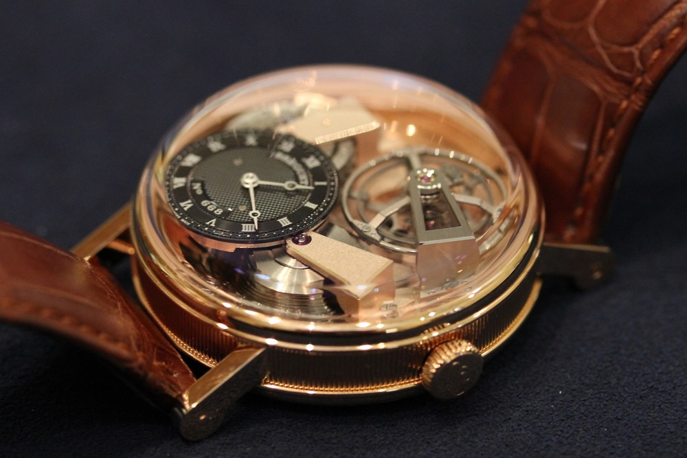 The Depth Of The Dial And Movement
