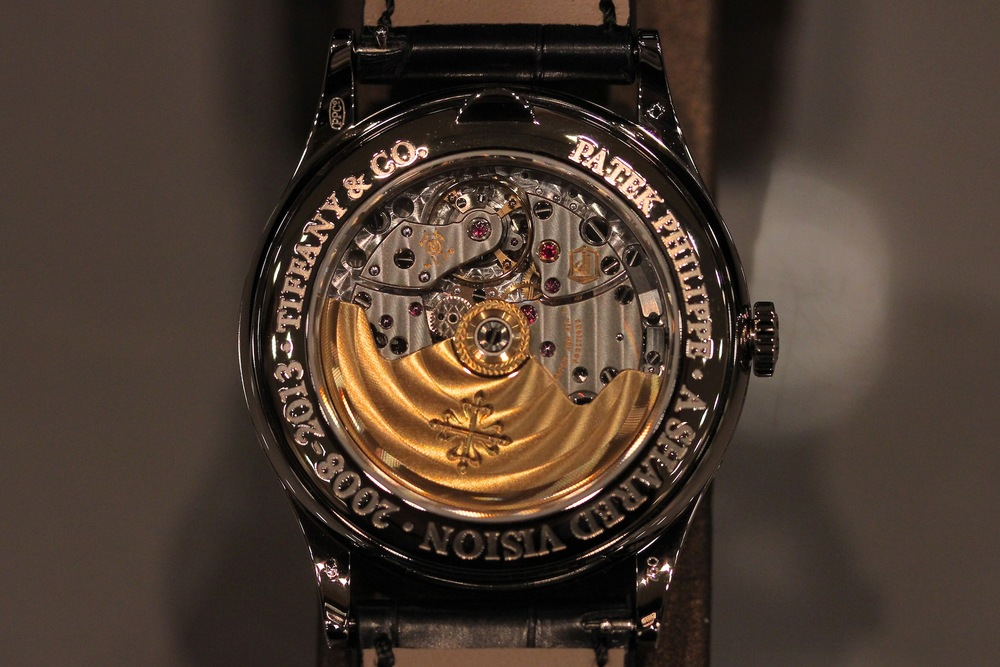 Beautifully Finished Movement and Limited Edition Marked Caseback