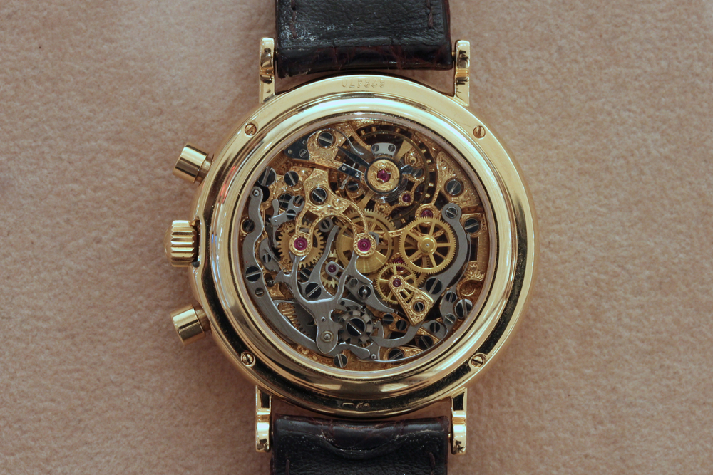 Skeletonized Vacheron Constantin Chronograph Reverse