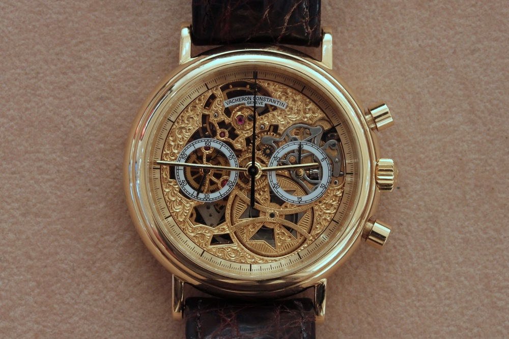 Vacheron Constantin Skeletonized Chronograph