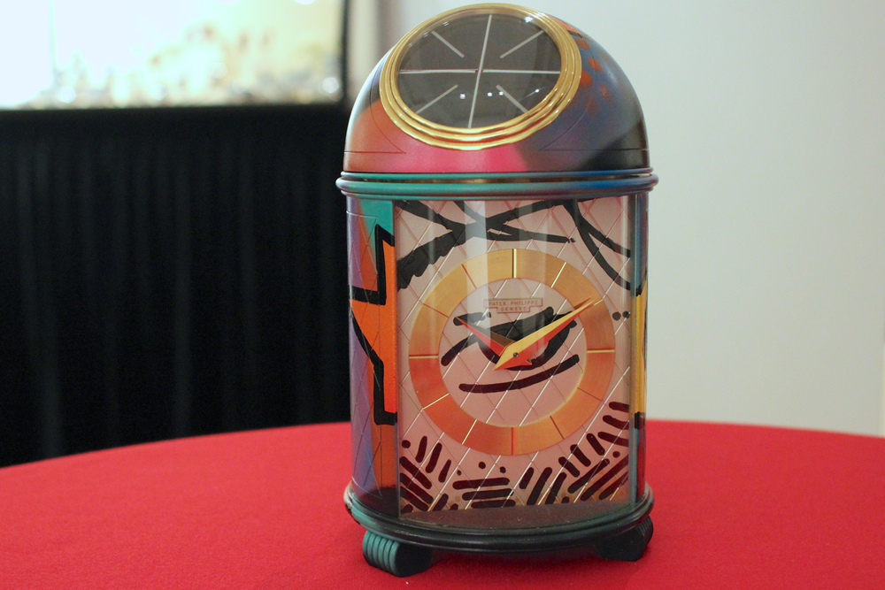 Patek Philippe Dome Clock Painted by Crash