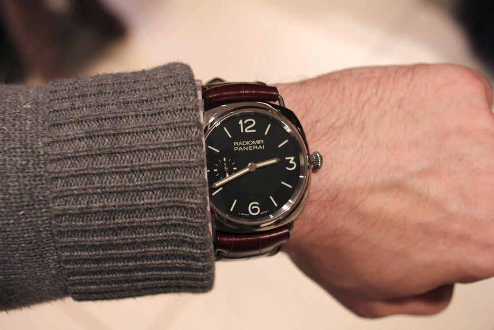 PAM 337 On The Wrist